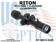 RITON RT-S MOD 7 4-32X56IR - ILLUMINATED