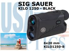 "SIG SAUER ELECTRO-OPTICS KILO 1250 LASER RANGE FINDER - BLACK - <FONT COLOR = ""RED"">2 LEFT</FONT>"