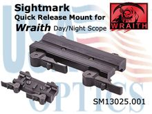 SIGHTMARK LOCKING QUICK DETACH MOUNT/WRAITH