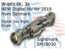 Wraith 4K, 3x - Day Night Scope NEW for 2019
