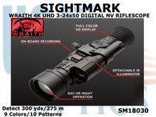 SIGHTMARK WRAITH 4K UHD 3-24X50 - This Scope is SO NEW - - We haven't started recieving our share - -  we do not even have pricing yet!... but wanted to share info as soon as we knew anything... This listing will be updated as soon as more info is known..