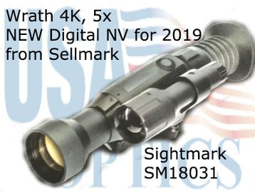 Wraith 4K, 5x Day Digital Day Night Scope from Sellmark