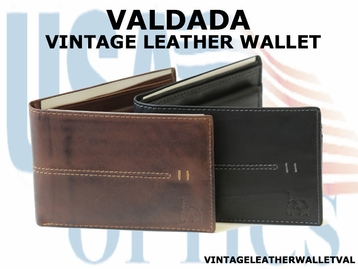 VALDADA VINTAGE LEATHER WALLET