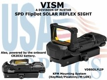VISM SPD FlipDot SOLAR REFLEX SIGHT with KPM MOUNTING SYSTEM