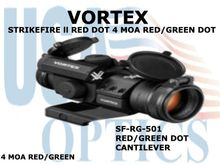 VORTEX STRIKEFIRE ll RED DOT CANTILEVER RED/GREEN DOT