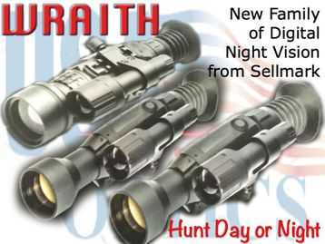 SIGHTMARK WRAITH HD 4-32x50 DIGITAL NV RIFLESCOPE