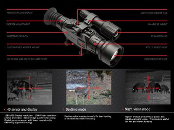 Wraith HD 4-32x50 NV Riflescope