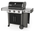 61015001 Weber Genesis II Series E-315 Outdoor Grill with Infinity Ignition and Grease Management System - Liquid Propane - Black
