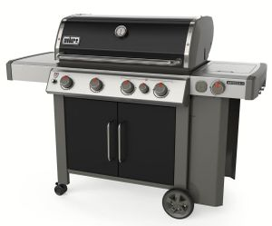 62016001 Weber Genesis II Series  E-435 Outdoor Grill with Sear Station and Side Burner - Liquid Propane - Black