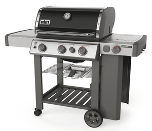 66012001 Weber Genesis II Series  E-330 Outdoor Grill with Sear Station and Side Burner - Natural Gas - Black