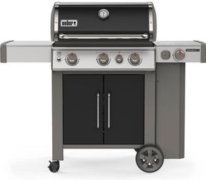 66016001 Weber Genesis II Series E-335 Outdoor Grill with Infinity Ignition and Grease Management System - Natural Gas - Black