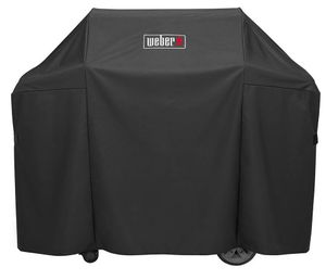 7130 Weber Premium Grill Cover For Genesis II and Genesis II LX 300 Series Gas Grills - Black