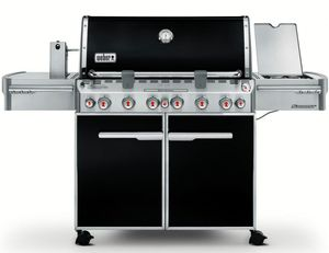 7471001 Weber Summit E-670 Natural Gas Grill - Black