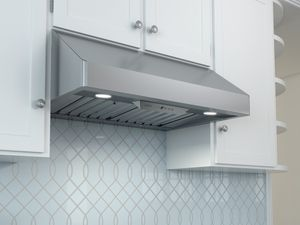 "AK7000BS Zephyr Tempest I Professional 30"" Wall Hood with 650 CFM Blower Included - Stainless Steel"