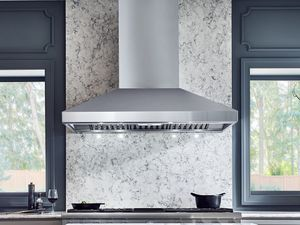 """AK7636AS Zephyr 36"""" Titan Pro Collection Wall Hood with 750 CFM PowerWave Blower and AirFlow Control Technology - Stainless Steel"""