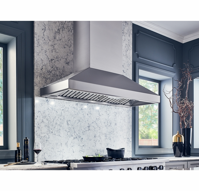 Ak7642as Zephyr 42 Titan Pro Collection Wall Hood With 750 Cfm Powerwave Blower And Airflow Control