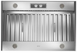 "AK9834AS Zephyr 34"" Spruce Pro Collection Outdoor Insert with 1200 CFM and Metallic Knob Controls - Stainless Steel"