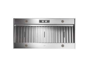 """AK9858AS Zephyr 58"""" Spruce Pro Collection Outdoor Insert with 1200 CFM and Metallic Knob Controls - Stainless Steel"""