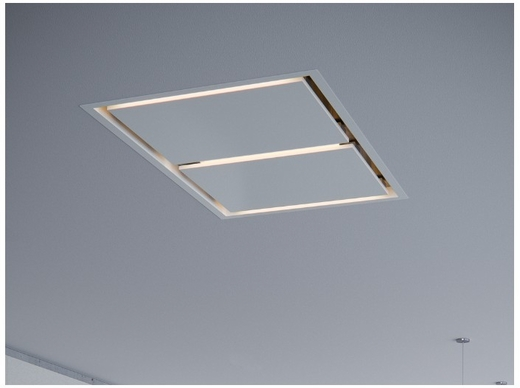 """ALUE63AWX  Zephyr 63"""" Lux Designer Collection In- Ceiling Hood with Tri Level Lighting and CleanAir Function - White"""