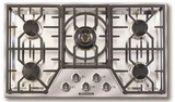 "ARDCT365N American Range 36"" Vitesse Series Drop In Gas Cooktop with 5 Sealed Burners - Stainless Steel"