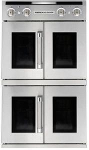 "AROFFG-230N American Range 30"" Legacy Double French Door Gas Wall Oven - Natural Gas - Stainless Steel"