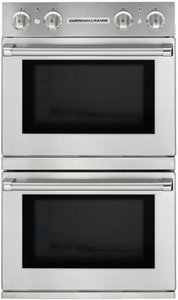 AROSSHGE-230N American Range Legacy Hybrid Double Wall Oven with Gas Oven Chef Door on Top - Electric Chef Door Bottom - Natural Gas - Stainless Steel