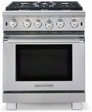 """ARR-530N American Range Cuisine 30"""" All Gas Range with Sealed Gas Burners & Innovection Convection Oven - Natural Gas - Stainless Steel"""