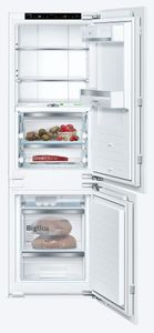 "B09IB91NSP Bosch 24"" 800 Series Wifi Enabled Built-In Counter Depth Refrigerator with Home Connect and VitaFreshPro Drawer - Custom Panel"