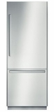 """B30BB830SS Bosch 30"""" Benchmark Series Built-In Bottom Freezer Refrigerator with OptiFlex Hinge and Dual Evaporators - Stainless Steel"""