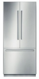 """B36BB830SS Bosch 30"""" Benchmark Series Built-In French Door Refrigerator with OptiFlex Hinge and Dual Evaporators - Stainless Steel"""