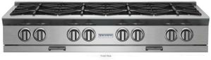 "BSPRT488B Blue Star 48"" Platinum Series 8 Burner Rangetop with PrimeNova Open Burners and Interchangeable Griddle Char broiler - Stainless Steel"