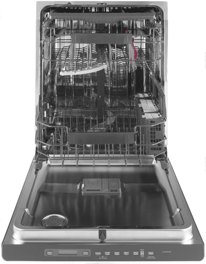 "CDT706P2MS1 GE Cafe 24"" Fully Integrated Dishwasher with Bottle Jets and Hidden Vent with Fan Dry - Stainless Steel with Stainless Handle"