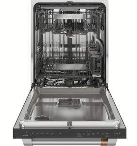 "CDT845P2NS1 Cafe 24"" Built-In Dishwasher with UltraWash & Dry and Wash Zones - Stainless Steel with Brushed Stainless Steel Handle"