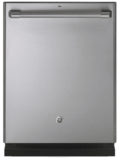 """CDT866P2MS1 GE Cafe 24"""" Fully Integrated Dishwasher with 140 Cleaning Jets and Wi-Fi Connect - Stainless Steel with Brushed Stainless Handle"""