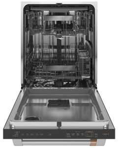 "CDT875P2NS1 Cafe 24"" Matte Collection Built-In Dishwasher with UltraWash & Dry Plus and WiFi Connect - Stainless Steel with Brushed Stainless Steel Handle"