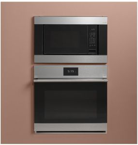 """CEB515M2NS5 Cafe 22"""" Countertop Convection Microwave with WiFi Connect and Scan to Cook Technology - Platinum"""