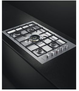 """CG365DLPRX2N Fisher & Paykel 36"""" 5 Burner Flush Fit Cooktop with Intuitive Dial Controls and Easy Cleaning - Liquid Propane - Stainless Steel"""