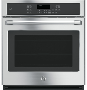 "CK7000SHSS Cafe 27"" Built-In Single Convection Wall Oven with True European Convection - Stainless Steel - CLEARANCE"