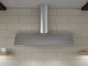 "COKE36BSX Zephyr 36"" Cheng Collection Okeanito Wall Hood - Stainless Steel"