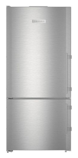 "CS1400RL Liebherr 30"" Freestanding/Semi Built-In Bottom Mount Refrigerator with DuoCooling Technology and Soft System - Left Hinge - Stainless Steel"