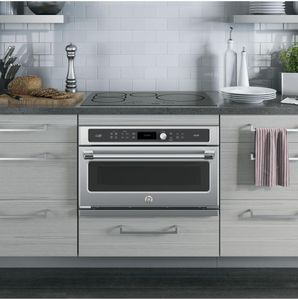 """CSB9120SJSS Cafe 30"""" Single Wall Oven with Advantium Technology - Stainless Steel"""