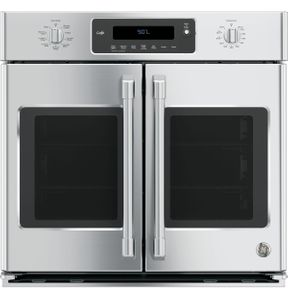 "CT9070SHSS Cafe 30"" Built-In French-Door Single Convection Wall Oven - Stainless Steel"