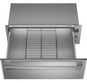"""CTW900P2NS1 Cafe 30"""" Warming Drawer with Variable Humidity Control and Variable Temperature Control - Stainless Steel with Brushed Stainless Steel Handle"""