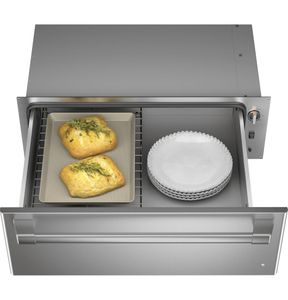 CTW900P2PS1 Cafe Professional Collection Warming Drawer - Stainless Steel with Brushed Stainless Steel Handle