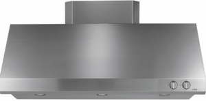 "CV48SSLSS Cafe 48"" Professional Hood with 3 Halogen Lamps with 4 Lighting Levels and Removable Grease Trays - Stainless Steel"