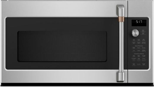 "CVM521P2MS1 Cafe 30"" Over-the-Range Microwave Oven - Stainless Steel with Brushed Stainless Steel Handle"