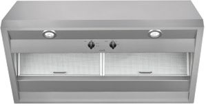 """CVW93012MSS Cafe 30"""" Commercial Wall Mount Hood with 590 CFM and Dual Halogen Lighting - Stainless Steel"""
