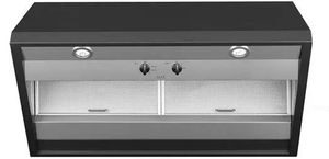 "CVW93613MDS Cafe 36"" Commercial Hood with 590 CFM and Dual Halogen Cooktop Lighting  - Matte Black"