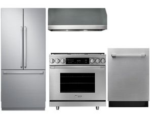 "Package D3 - Dacor Appliance Kitchen Package 36"" Dual Fuel Range - Stainless Steel"