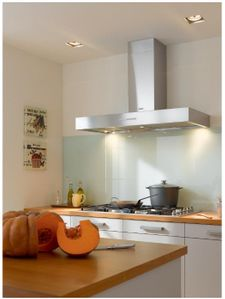 """DA5428W Miele 48"""" Decorator Wall Hood with LED ClearView Lighting and 625 CFM - Stainless Steel"""